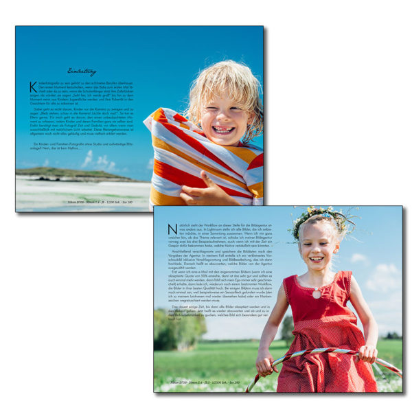Behind the Scenes: Kinder- & Familienfotografie - Akquise, Ausr
