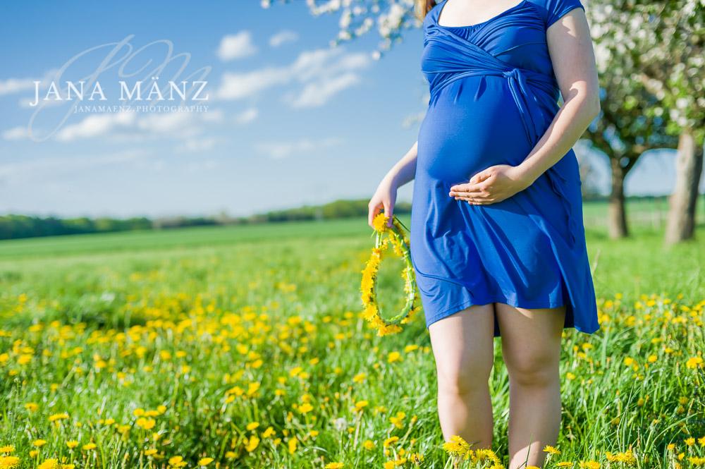 Natürliche, romantische und moderne Schwangerschaftsfotos